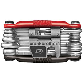 Crankbrothers Multi-19 Multitool schwarz/rot